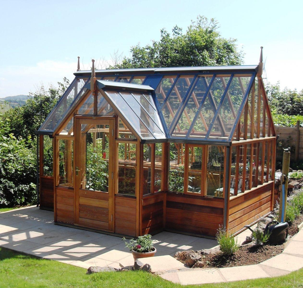 Hjelp jeg har bestilt drivhus perogkari for Garden glass house designs